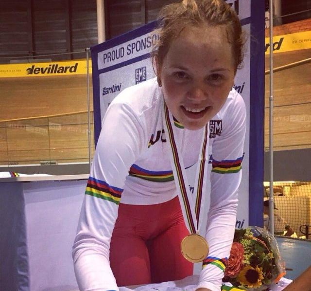 Мария Новолодская: «Золота на первенстве мира по велоспорту я никак не ожидала»