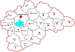 Треть границы Новгородской области поставлена на кадастровый учет