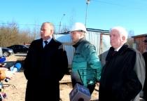 Сергей Митин раскритиковал волокиту мэрии со строительством в Деревяницах