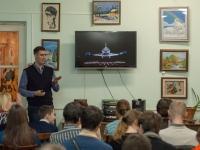 На «Космической субботе» в Великом Новгороде выступил инженер-конструктор института робототехники