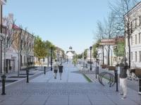 Юрий Бобрышев поддержал идею пешеходной зоны на Ильине улице