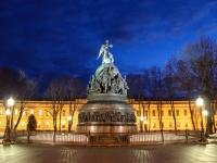 21 января: утро в Великом Новгороде