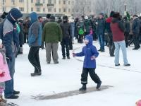 Фоторепортаж: празднование Рождества на площади Победы-Софийской