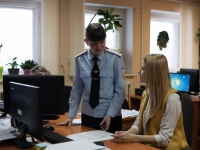 В Новгородском ГИБДД высадился «Студенческий десант»