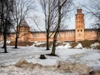17 февраля: утро в Великом Новгороде