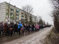 Фоторепортаж: 72-ю годовщину освобождения Батецкого района отметили памятным маршем