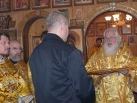 Митрополит Новгородский и Старорусский Лев вручил осужденному благословенную грамоту