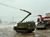 В арсенале «Котово» действует робототехнический комплекс для тушения пожаров