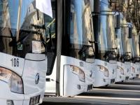 Пять новых автобусов Yutong прибыли в Великий Новгород
