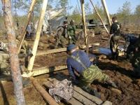 В Демянском районе завершается операция по подъему бомбардировщика времен войны