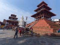 В Великом Новгороде открылась выставка, посвященная землетрясению в Непале