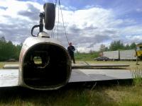 Фотофакт: в Великом Новгороде появится еще один самолет
