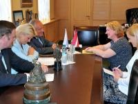Губернатор Новгородской области обсудил с генконсулом Латвии перспективы сотрудничества
