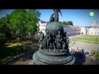 Телекомпания «Мир» рассказала в «Тайнах времени» о Волжском пути через Великий Новгород