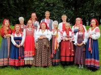 Новгородская «Круговина» уехала в гости к «Бабушкам из Бураново»