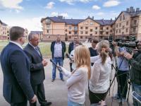 Сегодня состоялась продажа первой квартиры в «Аркажской слободе»