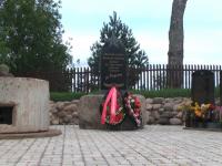В новгородской деревне Балуево открыт монумент погибшим красноармейцам