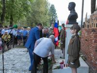 В Валдае открыли бюст Герою СССР Якову Павлову