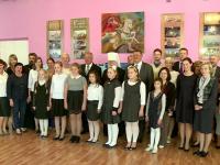 Митрополит Лев и губернатор Сергей Митин поздравили православную школу с началом учебного года