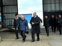 Сергей Митин посетил зерносушильный комплекс «Новгородского бекона» в Волотовском районе