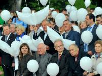 В Великом Новгороде прошла акция, посвященная Дню солидарности в борьбе с терроризмом