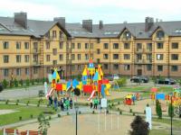 В Аркажской слободе сдали первые четыре дома