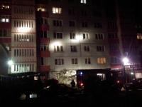 Фотофакт: пожар на проспекте Корсунова - семь человек эвакуированы, два спасены