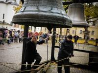 На новгородском «Звонарском вече» прозвучал голос колокола из XVII века