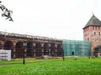 Реставрацией южной части кремля займутся 60 рабочих