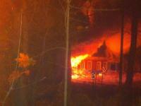 В Малой Вишере горело здание бывшего детсада