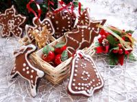 «53 новогодних рецепта»: имбирные пряники