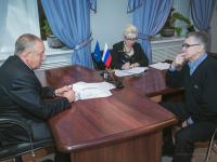 Сергей Митин: «Реконструкция стадиона «Электрон» продолжится»