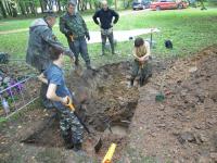 В Маловишерском районе захоронят 161 солдата и двух расстрелянных немцами местных жителей
