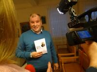 На презентации книги о Матвее Шульгине боровичское бизнес-сообщество решило сделать порталы арочного моста
