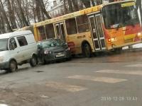 В Великом Новгороде на Воскресенском бульваре из-за ДТП заблокирован проезд в сторону центра