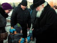 Фоторепортаж: Рождество Христово в Великом Новгороде