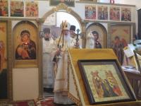 Митрополит Новгородский и Старорусский Лев посетил Марево
