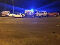 У деревни Чечулино Новгородского района произошло ДТП с участием четырех автомобилей