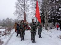 В Парфине отметили 75 лет со дня освобождения от немецко-фашистских захватчиков