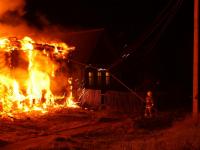За выходные в Новгородской области сгорело шесть домов
