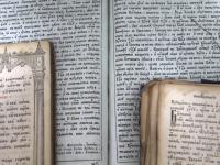 Фоторепортаж: в новгородском храме Успения в Колмове открыта выставка книжной старины