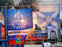 На матче в Великом Новгороде фанаты «Зенита» пытались прорваться на сектор «Динамо»