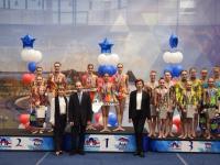 Новгородские акробатки вошли в тройку сильнейших на первенстве России