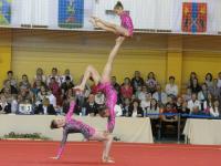 Новгородские акробаты успешно стартовали в новом спортивном сезоне