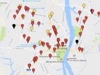 «Новый город» обновил карту ДТП с пешеходами в Великом Новгороде