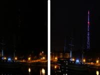 В «Час земли» в Великом Новгороде отключили гирлянду на башне и неизвестное количество электроприборов