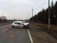 В ДТП на трассе М-10 в Чудовском районе трехлетний ребенок получил переломы обеих ног