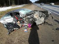 В Новгородской области за сутки в ДТП на ФАД «Россия» пострадали семь человек