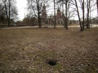 В Старой Руссе на месте установки стелы обнаружили провал