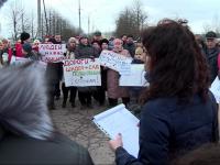 Власти пообещали выполнить ряд требований митингующих из Завокзального микрорайона